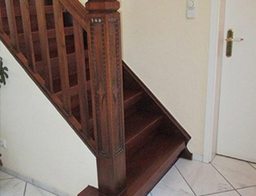 Treppenrenovierung