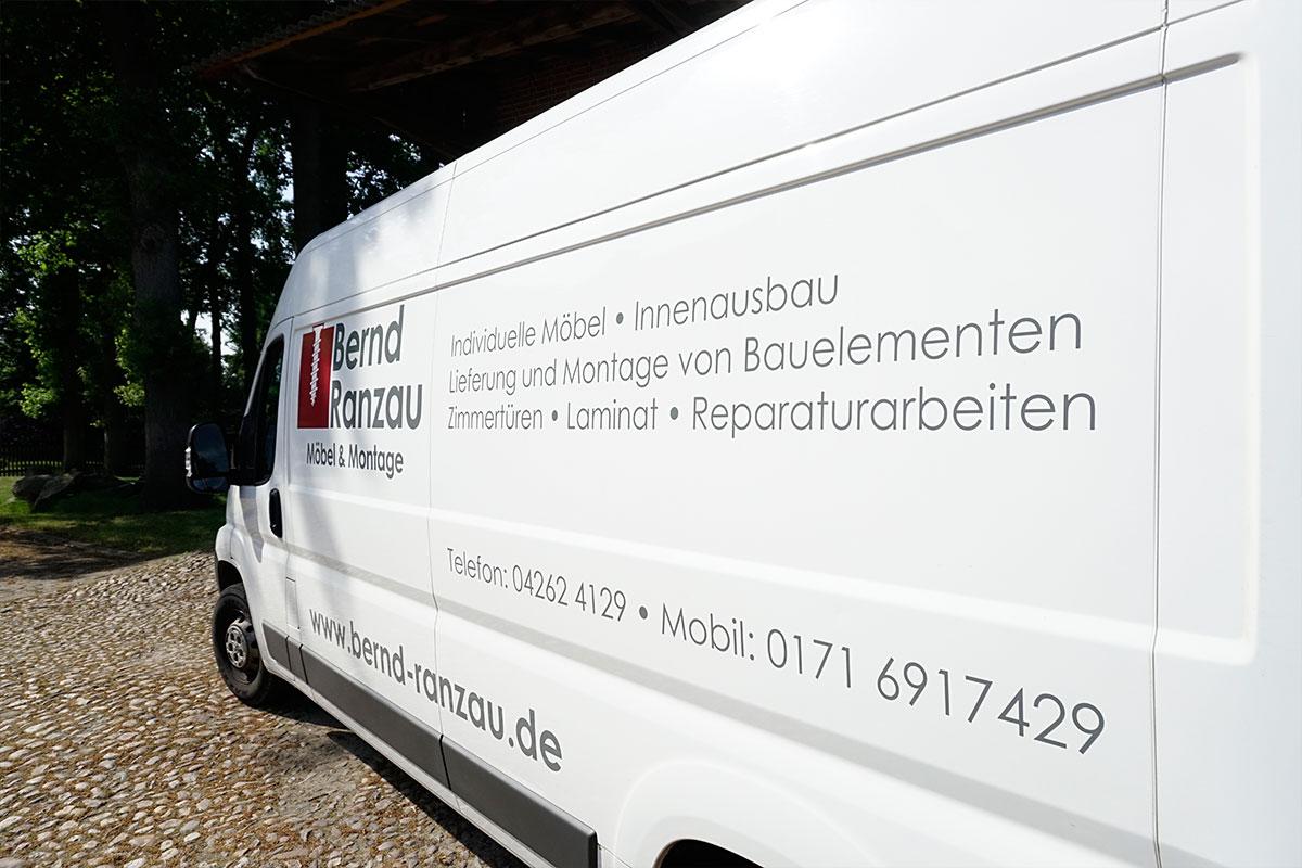 Tischlerei-Bernd-Ranzau-Firmenwagen